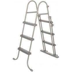Escalera Seguridad Para Piscina Bestway 58330 107 Cm