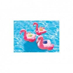 Posavasos hinchables Intex 57500 Pack 3 unidades flamencos | PiscinasDesmontable