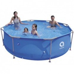 Piscina Desmontable con Depuradora 1136 L. Jilong 17798EU Super Round Pool Set 300x76 cm. | PiscinasDesmontable