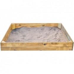 Arenero Infantil de 150x150 cm. Basic L de Masgames MA600051