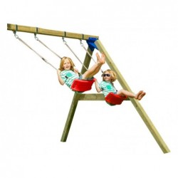 Columpio Para Parque Infantil Torre Belvedere De 120 Cm. Masgames Ma803501