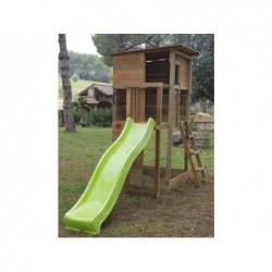 Parque Infantil Taga Escalada L con Columpio Individual de Masgames MA700362