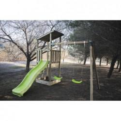 Parque Infantil Talaia L con Columpio Doble de Masgames MA700127
