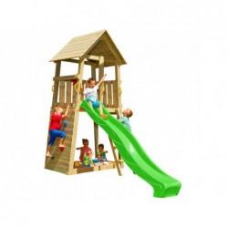 Parque Infantil Belvedere L con Columpio Individual de Masgames MA811411