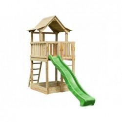 Parque Infantil Pagoda XL con Columpio Individual de Masgames MA802611