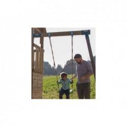 Parque Infantil Crossfit XL con Columpio Individual y Tobogán de Masgames MA802911 | PiscinasDesmontable