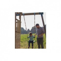 Parque Infantil Penthouse XL con Columpio Individual de Masgames MA802211 | PiscinasDesmontable