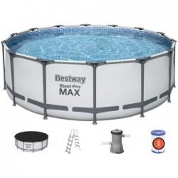 Piscina Desmontable Steel Pro Max de 427x122 cm. Bestway 5612 | PiscinasDesmontable