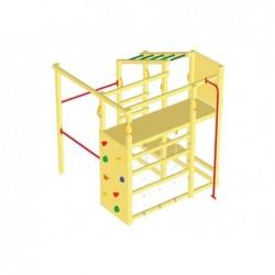 Parque Infantil Con Barra De Bombero Crossfit Masgames Ma802902
