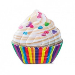 Colchoneta Cupcake Intex 142x135 Cm. 58770