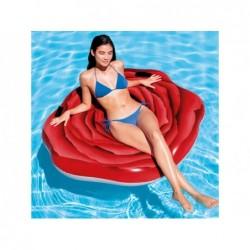 Colchoneta hinchable Intex 58783 Rosa Roja 137x132 cm | PiscinasDesmontable