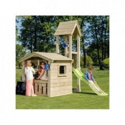 Parque Infantil Con Casa Lookout Masgames Ma801821