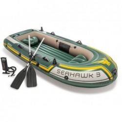 Barca Hinchable Seahawk 3 Personas 295x137x43 Cm Intex 60380np