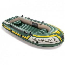 Barca Hinchable Seahawk 3 Personas 295x137x43 Cm Intex 60380np  | PiscinasDesmontable