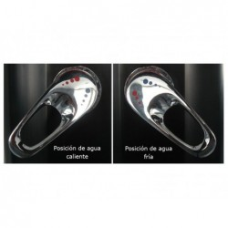 Ducha PVC Gre negra 30L AR1030 | PiscinasDesmontable