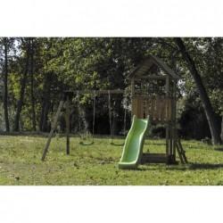 Parque Infantil Con Columpio Doble Tibidabo Masgames Ma700221