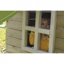 Parque Infantil con Caseta y Columpio Doble Canigo Masgames MA700205 | PiscinasDesmontable