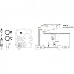 Controlador pH con Bomba Peristáltica pisc enterrada GRE CPH14  | PiscinasDesmontable