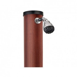 Gre Ducha PVC efecto madera 20 L AR1020W | PiscinasDesmontable