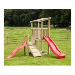 Parque Infantil Con Doble Altura Cascade Masgames Ma801501