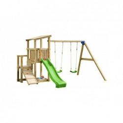 Parque Infantil Con Columpio Doble Cascade Masgames Ma811501