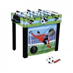 Futbolín 3 en 1 de 98x55x74 cm. con Varillas Telescópicas | PiscinasDesmontable