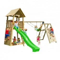 Parque Infantil Con Challenger Belvedere Masgames Ma812401