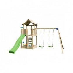 Parque Infantil Con Columpio Doble Pagoda Xl Masgames Ma821601