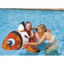Pez Payaso Hinchable de 157x94 cm | PiscinasDesmontable