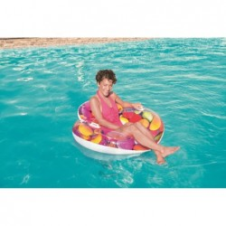 Flotador Lounge Candy Delight 118 X 117cm. De Bestway 43186 | PiscinasDesmontable