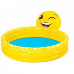 Piscina Hinchable Infantil 165x144x69 Cm. Emoji Bestway 53081