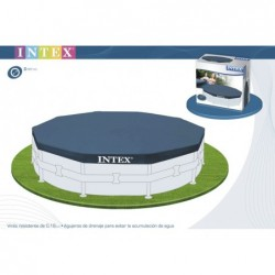Cobertor de piscina octogonal. Intex ref 28032 (457 cm) | PiscinasDesmontable