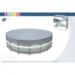 Cubierta Para Piscina De 549 Cm Intex 28041  | PiscinasDesmontable