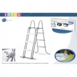 Escalera de piscina intex ref 28072 (91 a 107 cm) | PiscinasDesmontable