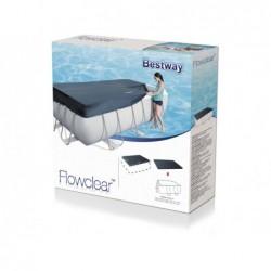 Cubierta piscina bestway frame pools 58232. 396 x 185 cm  | PiscinasDesmontable