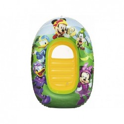 Barca mickey mouse clubhouse hinchable 102 x 69 cm  | PiscinasDesmontable