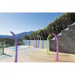 Ducha Solar Cobra Con Grifo Piés Purpura Ds-C720vo  | PiscinasDesmontable