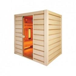 Sauna Hybrid De Infrarrojos Y Tradicional 190 Cm. Poolstar Hl-Hc04-K