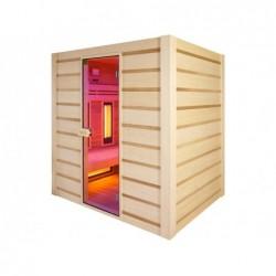 Sauna Hybrid de Infrarrojos y Tradicional 190 cm. POOLSTAR HL-HC04-K | PiscinasDesmontable