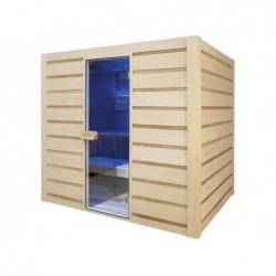Sauna Vapor Eccolo De 6 Plazas 190 Cm. Poolstar Hl-Ec04-K
