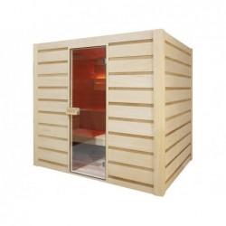 Sauna Vapor Eccolo de 6 plazas 190 cm. POOLSTAR HL-EC04-K | PiscinasDesmontable