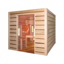Sauna Hybrid De Movilidad Reducida De 4 Personas 190 Cm. Poolstar Hl-Hc04a-K