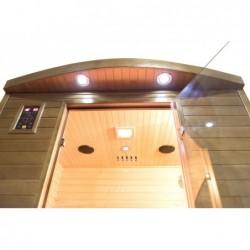 Sauna Infrarrojos Spectra de 2 plazas 200 cm. POOLSTAR SN-SPECTRA03R | PiscinasDesmontable
