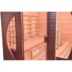 Sauna Infrarrojos Spectra de 4 plazas 200 cm. POOLSTAR SN-SPECTRA05R | PiscinasDesmontable