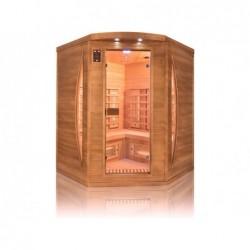Sauna Infrarrojos Spectra Angular De 3 Plazas 200 Cm. Poolstar Sn-Spectra04c