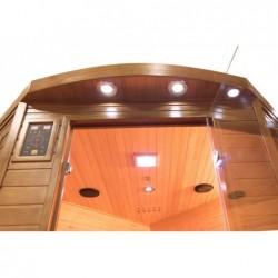 Sauna Infrarrojos Spectra Angular de 3 plazas 200 cm. POOLSTAR SN-SPECTRA04C | PiscinasDesmontable