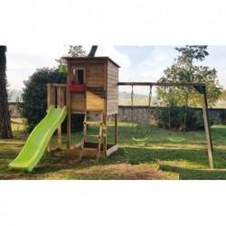 Parque Infantil Con Columpio Doble Taga Masgames Ma700305