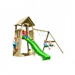 Parque Infantil Con Columpio Doble Belvedere Xl Masgames Ma821401
