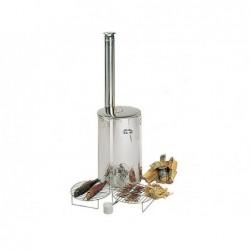 Estufa De Leña Flaresmoker De 70x42 Cm. Para Cocinar Poolstar Sn-Harvia-Ws100