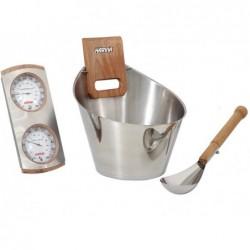 Kit Accesorios Para Sauna Tradicional 4 Piezas. Poolstar Sn-Sa006 | PiscinasDesmontable